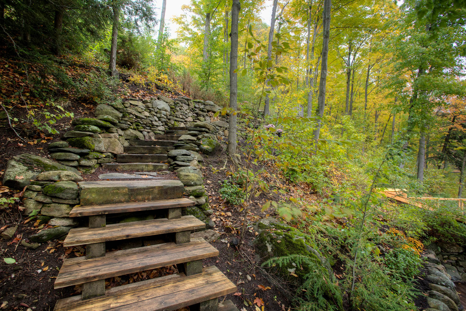 Whispering Pines Landscaping, stone walk way in Shelburne Ontario by Whispering Pines Landscaping
