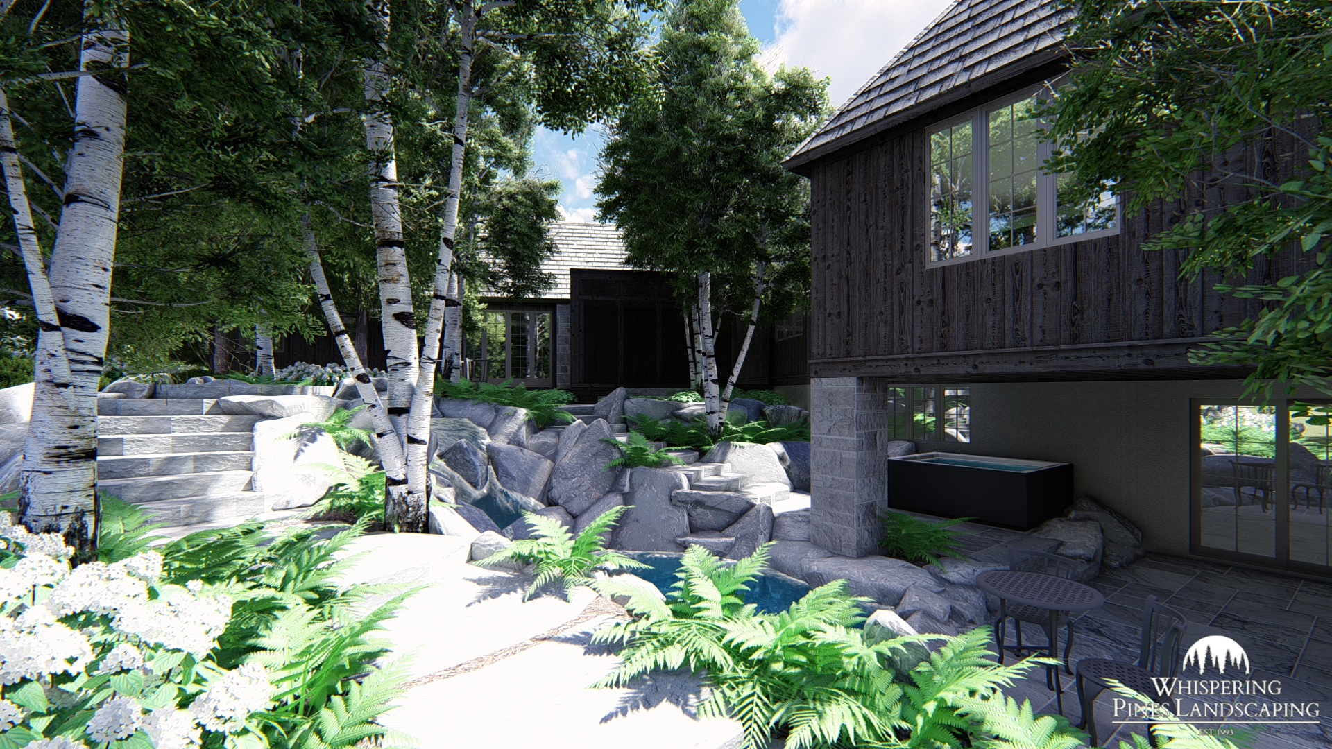 3-D Landscape Rendering